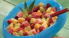 Gingered Fresh Fruit Salad Recipe