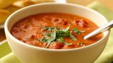 Chunky Tomato-Basil Soup Recipe