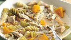 Turkey, Squash and Pasta Soup Recipe