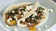 Bacon and Swiss Chard Tacos Recipe
