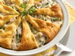 Spring Asparagus and Turkey Pie