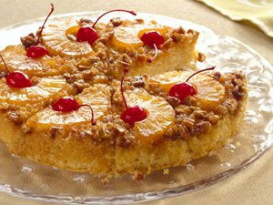 Quick&#32;Pineapple&#32;Upside-Down&#32;Cake