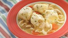 Chicken Soup and Grands! Dumplings Recipe