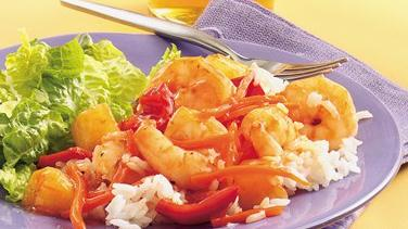 Pineapple Shrimp Stir-Fry