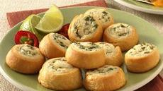 Jalapeño-Chicken Crescent Pinwheels Recipe