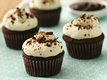 Dark Chocolate Chip-Mascarpone Cupcakes