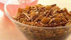 Chili and Garlic Snack Mix Recipe