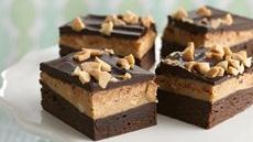 Dark Chocolate-Peanut Butter Brownies Recipe