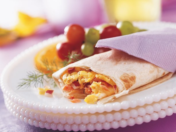 Smoked Salmon and Egg Wraps (Crowd Size)
