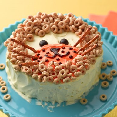 Cheerios First Birthday Lion Cake