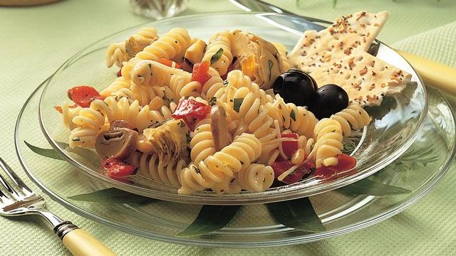 Image of Artichoke-pepper Pasta Salad, Pillsbury