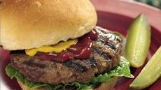 Grilled Juicy Burgers Recipe