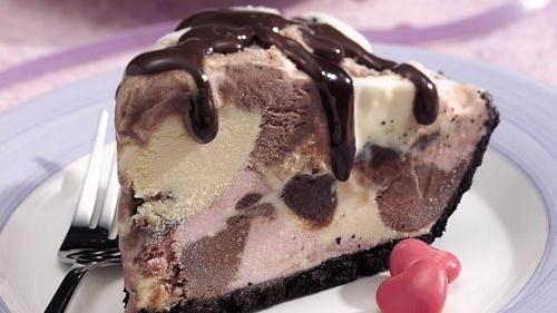 Neapolitan Ice Cream Squares Neapolitan Ice Cream Pie