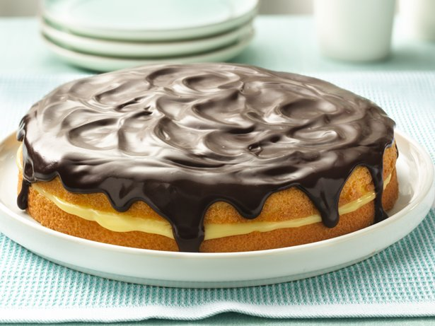Boston Cream Pie recipe from Betty Crocker