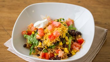 Veggie Taco Quinoa Bowl