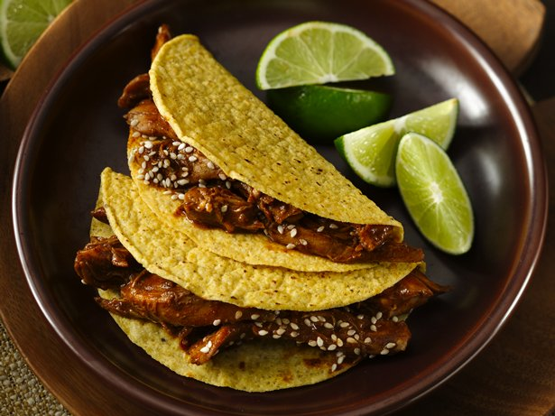 Turkey-Mole Tacos