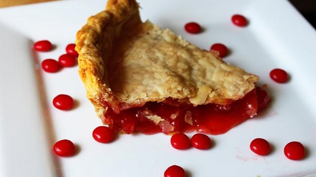 Red Candy Apple Pie