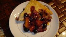 North meets south Blueberry Peach Pie Recipe
