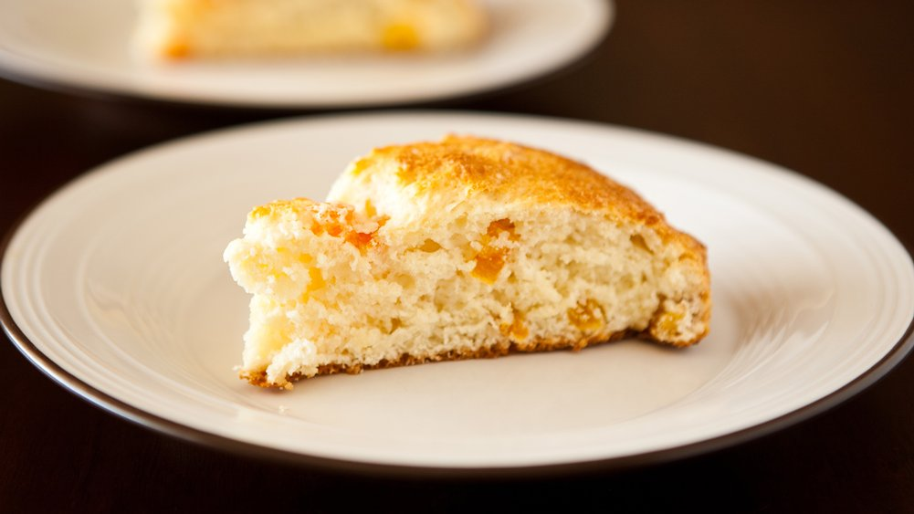 Yogurt Apricot Scones