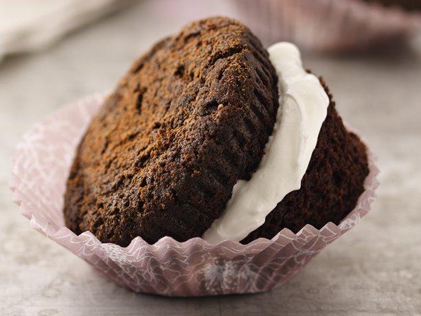 Whoopie Pie de chocolate Magdalenas