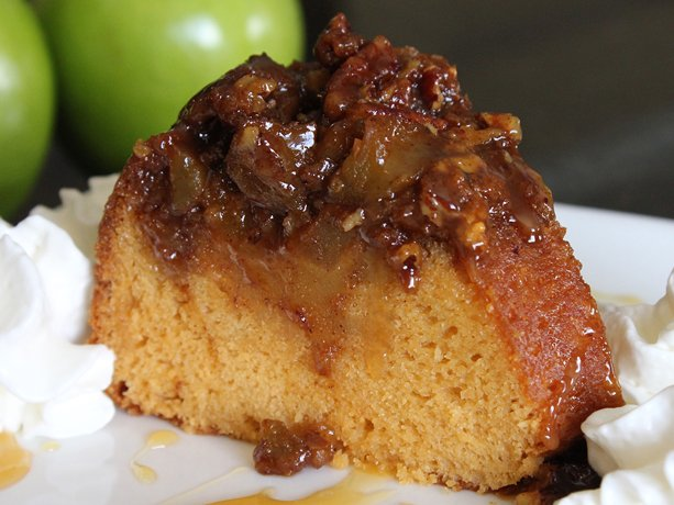 Image of Apple-butterscotch Ring Cake, Betty Crocker