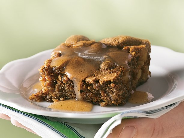 Image of Apple Pudding Cake With Cinnamon-butter Sauce, Betty Crocker