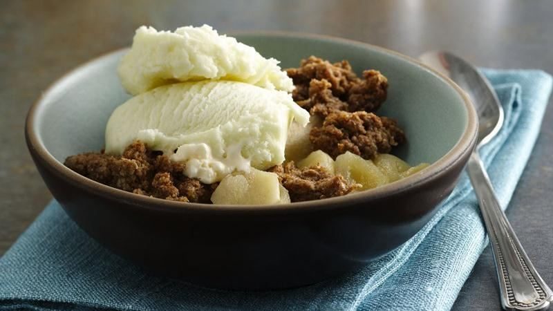 Apple Crisp recipe from Betty Crocker