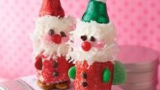 Marshmallow Santas Recipe