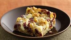 Winter Harvest Cookie Bars Recipe