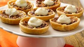 Mini Carrot Cake Pecan Tarts Recipe