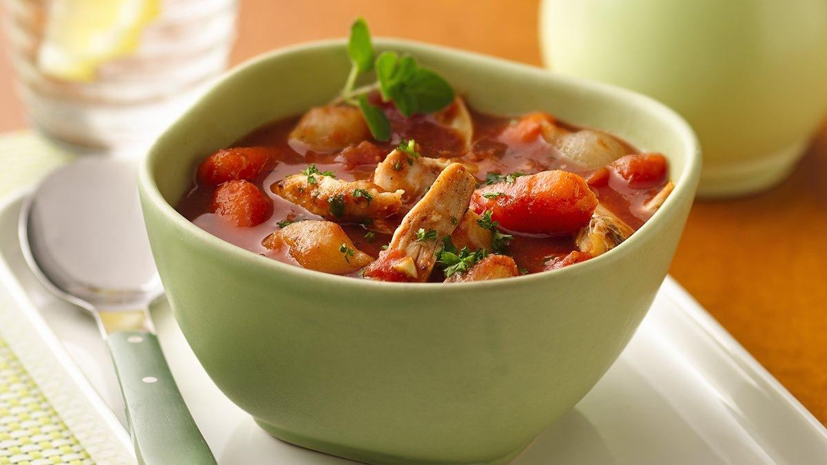 Slow Cooker Greek Chicken Stew - Life Made Delicious