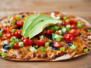 Mexican&#32;Flatbread&#32;Pizzas