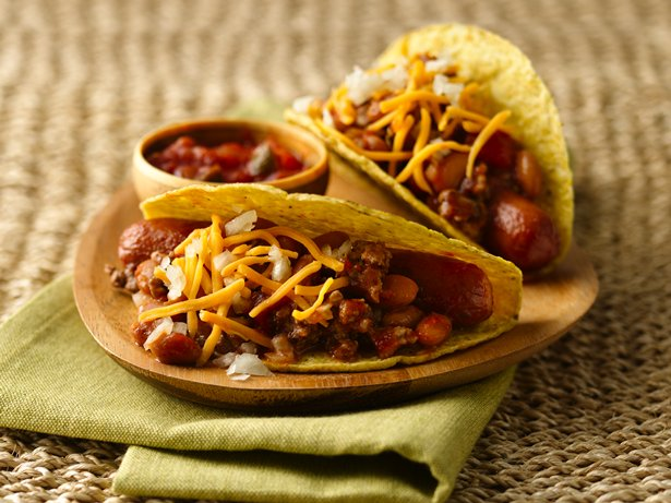 Chili Dog Tacos