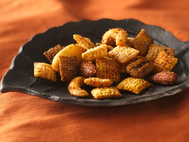Spiced Nuts 'n Chex® Mix