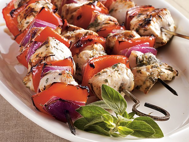 Mediterranean Chicken Kabobs