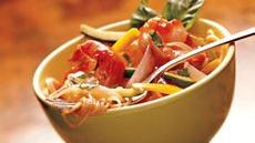 Marinara Shrimp and Vegetable Bowls Recipe