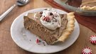 Peppermint Mocha French Silk Pie