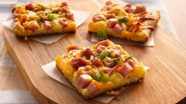 Ham and Cheese Crescent Snacks
