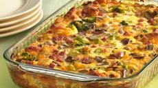 Ham 'n Cheese Omelet Bake Recipe