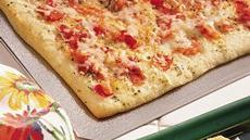 Quick &#39;n Easy Herb Flatbread Recipe