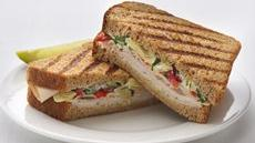Healthified Turkey-Artichoke Panini Recipe