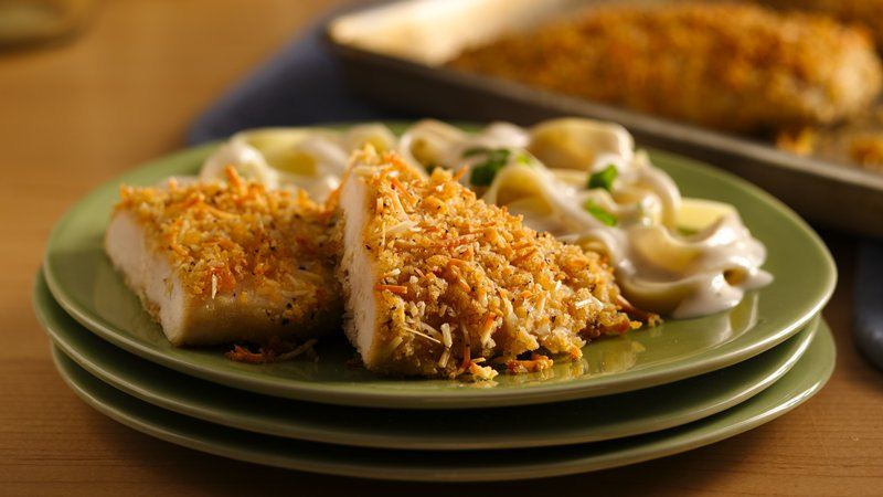 Crispy Parmesan Chicken recipe from Betty Crocker