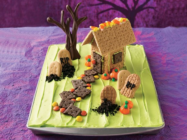 Graveyard Cake