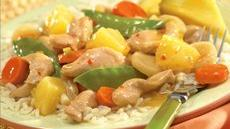 Chicken and Vegetables with Pineapple Recipe
