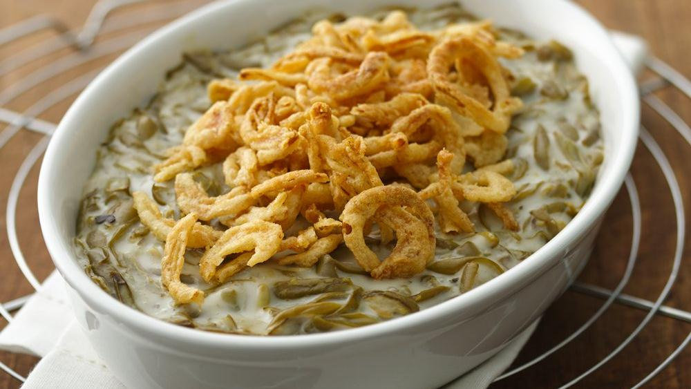 Easy Green Bean Casserole recipe from Pillsbury.com