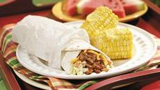Barbecue Chicken Wraps Recipe