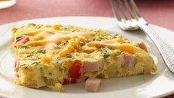 Gluten Free Canadian Bacon and Potato Frittata