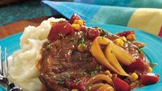 Oven-Barbecue Swiss Steak Recipe