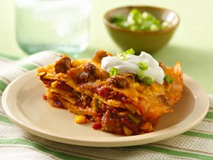 Beef&#32;Enchilada&#32;Stack