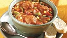 Meatball-Bean Stew Recipe